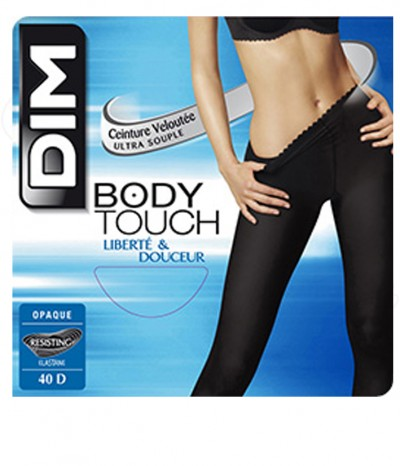 2 Collants DIM Body Touch Opaque noir