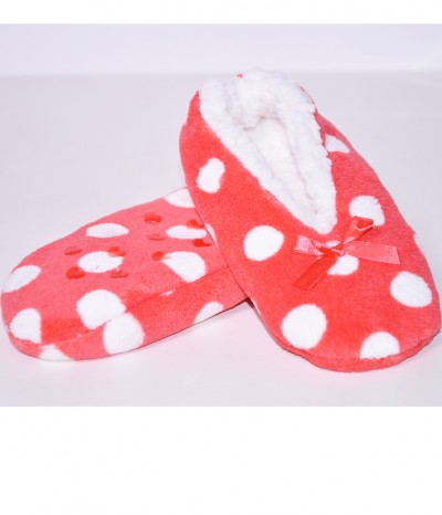 chaussons ballerine a pois tres doux