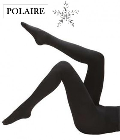 collant polaire noir