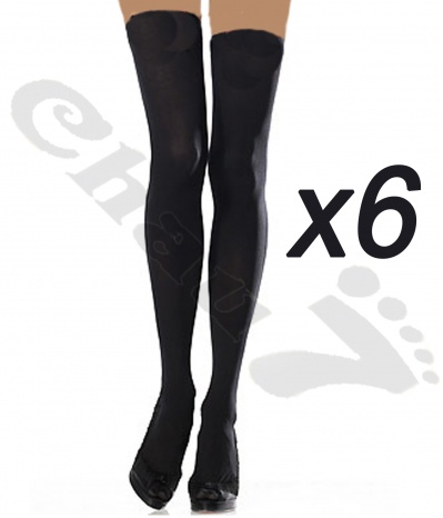 lot 6 paires jambieres femme