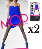 2 Collants MOD de DIM Resille